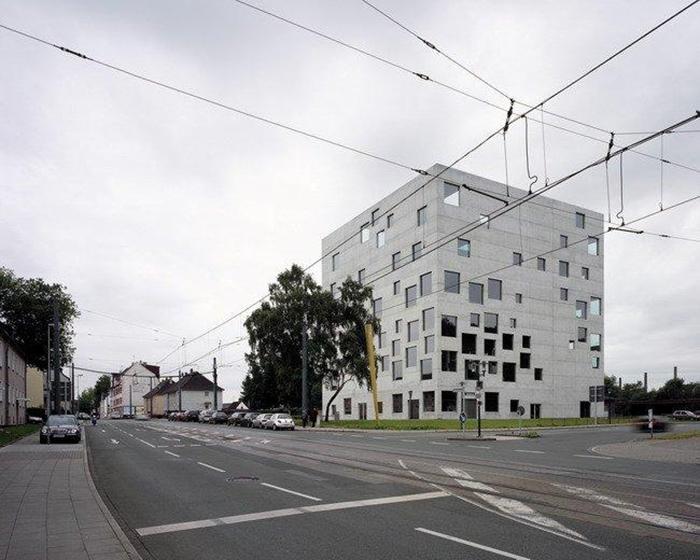Здание школы менеджмента и дизайна Цольферайн, Эссен, Германия.