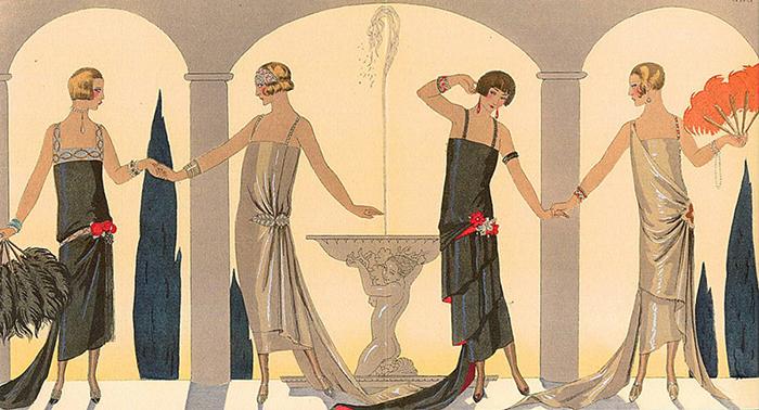 Барбье создал золотой стандарт модной иллюстрации.