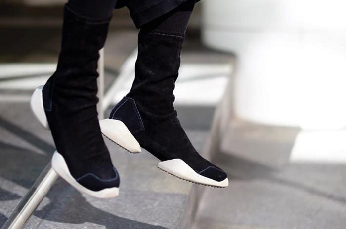 Обувь от Рика Оуэнса.