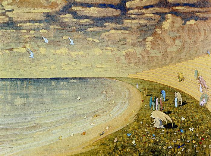 Рай в изображении Чюрлениса.