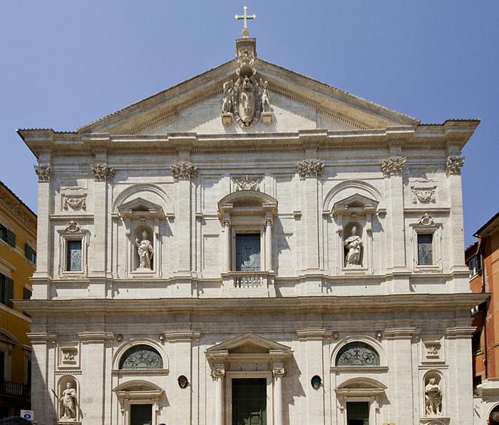 Церковь Сан-Луиджи-деи-Франчези.