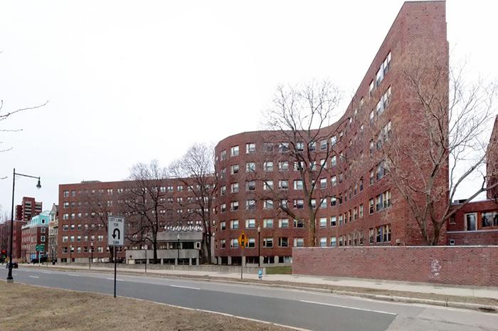 Студенческое общежитие Массачусетского технологического института.