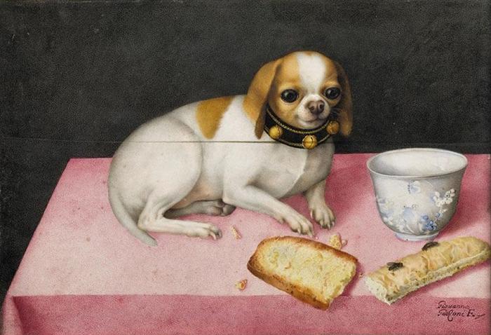 Редкий случай для барочной живописи, когда центральной фигурой картины становится животное.