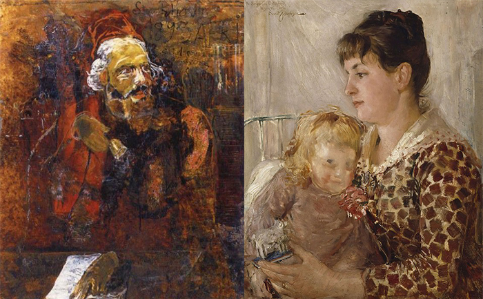 Людвиг Йозефсон. Мать и дитя.