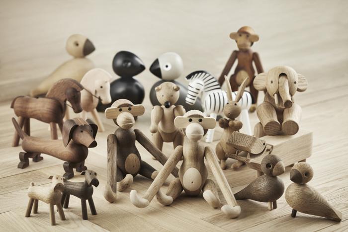 Деревянные игрушки Кая Бойсена.