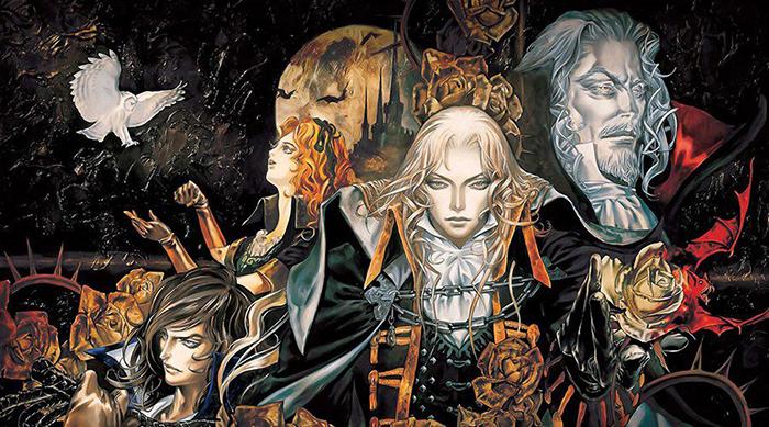 Арт к игре Castlevania.
