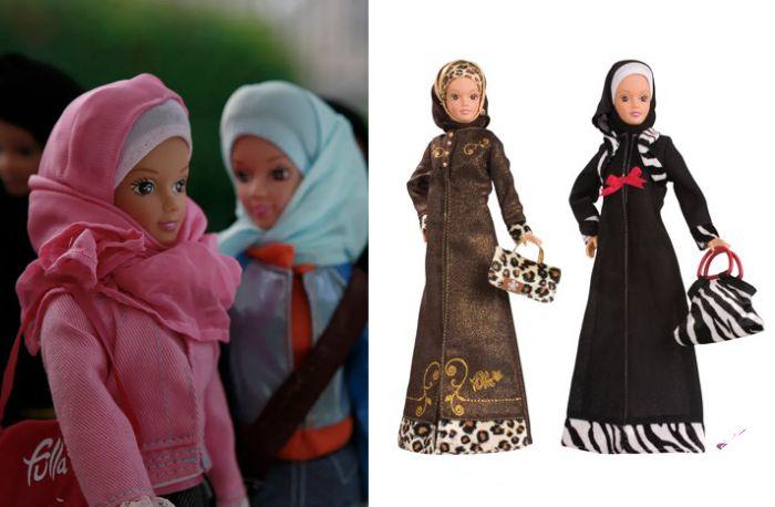 Куклы Фулла разных выпусков.