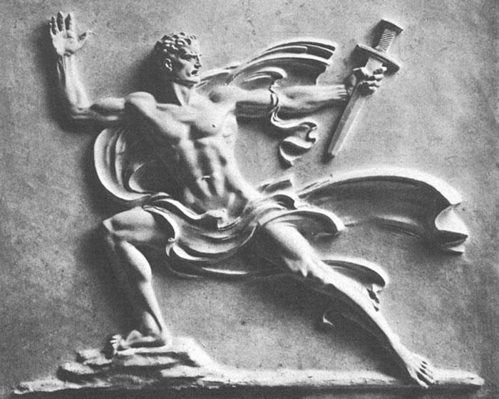 Брекер стал официальным скульптором нацистской Германии.