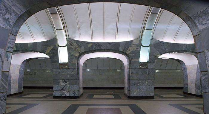 Станция Чкаловская.