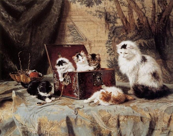 Писать кошек Роннер-Книп начала не только из особой любви к ним.