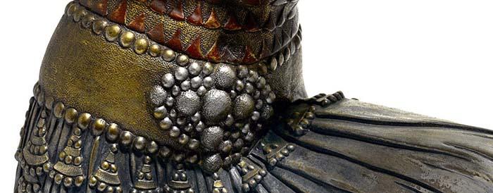 Фактура в скульптуре Чипаруса.