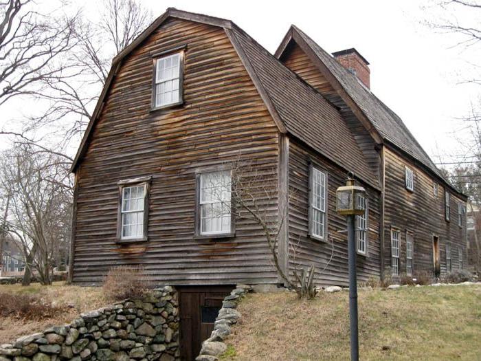 Старейшая постройка в США.