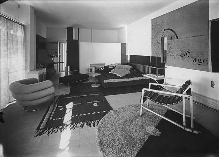 Ковры и мебель от Эйлин Грей.