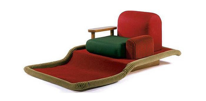 Кресло Этторе Сотсасса.