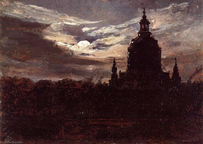 Франкенкирхе в Дрездене.