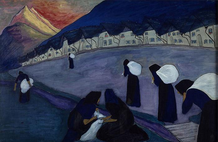 """""""Черные женщины"""", Марианна Веревкина."""