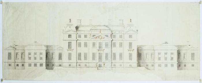 Рисунок, приписываемый леди Вилбрахам.