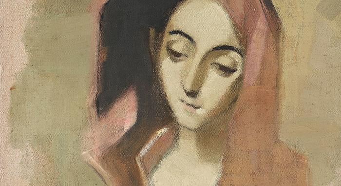 Этюд Шерфбек с полотна Эль Греко.