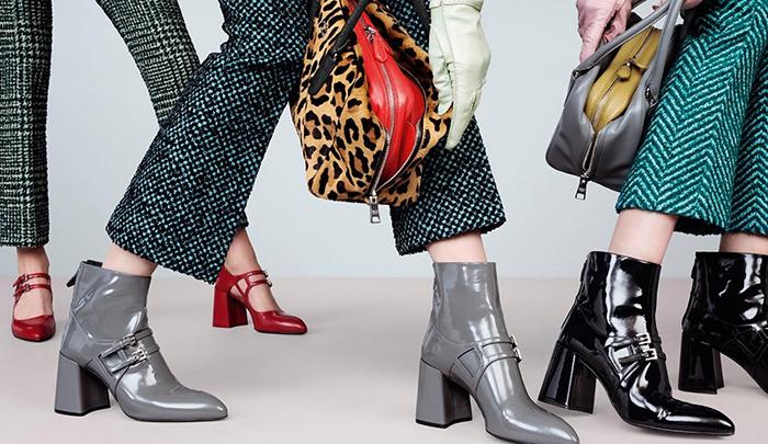 Обувь Prada.