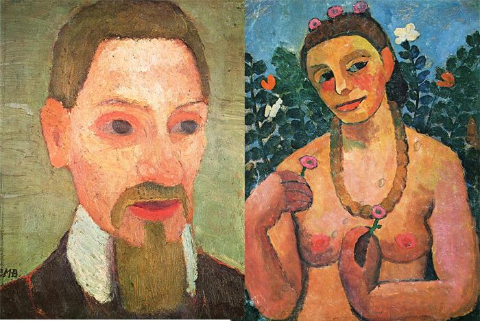 Портрет мужа, автопортрет.