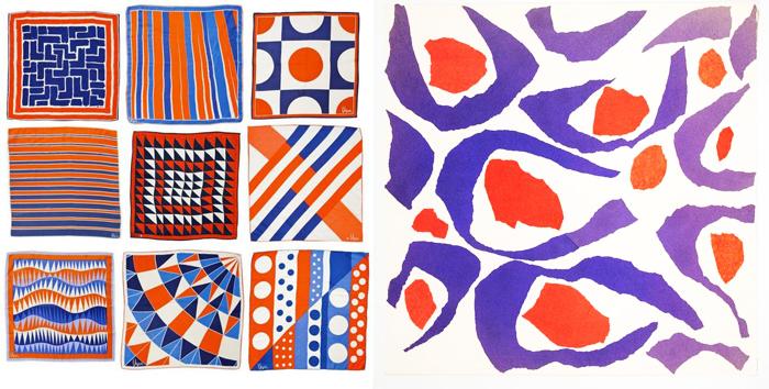 Абстрактные принты, созданные Верой Нейманн.