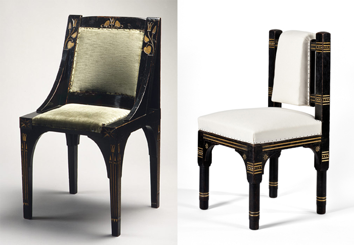 Мебель по проектам Кристофера Дрессера.