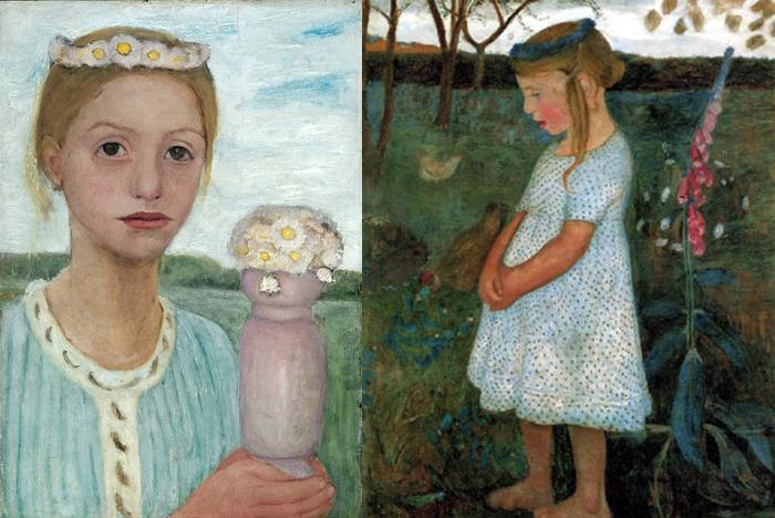 Паула отражала суровость немецкой природы и глубокие переживания моделей.