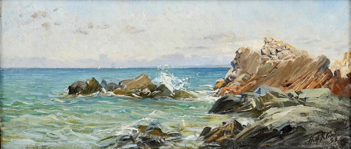 Прибрежный пейзаж.