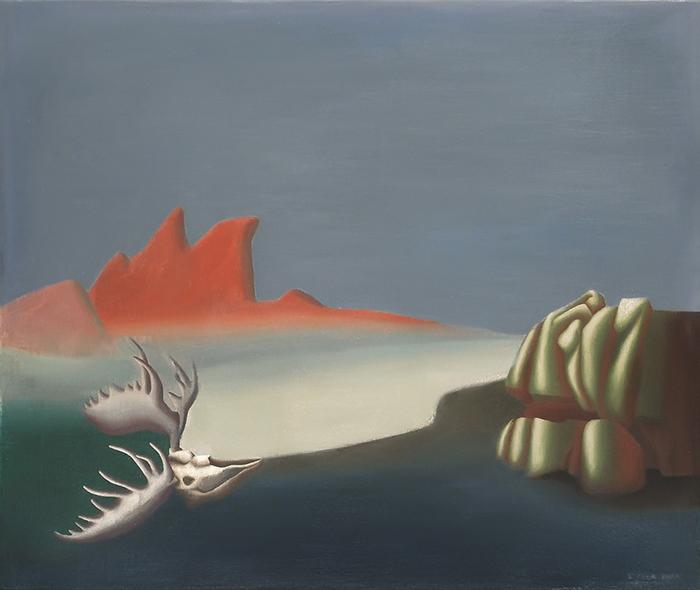 Сюрреалистическое полотно Стеллы Снид.