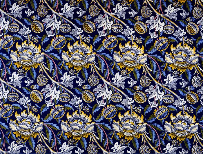 Текстиль и обои Уильяма Морриса.
