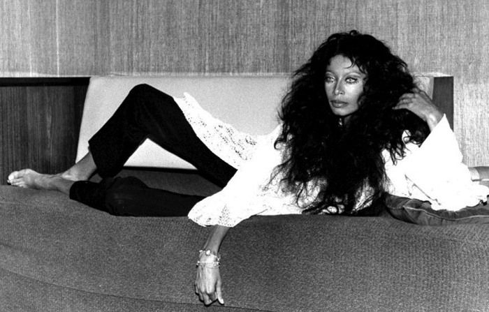 Фотография для журнала Playboy, 1974 год.