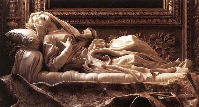Экстаз святой Людовики.