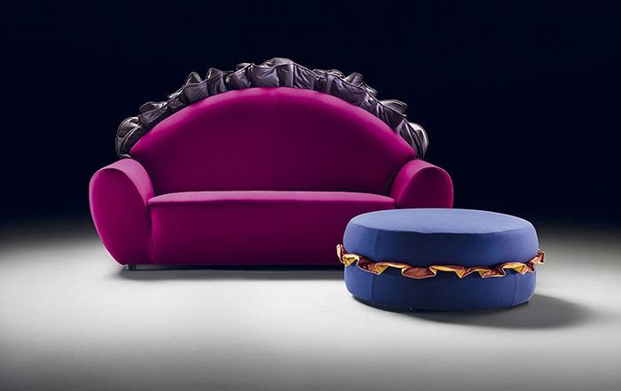 Мебель, противоречащая так называемому хорошему вкусу в дизайне.