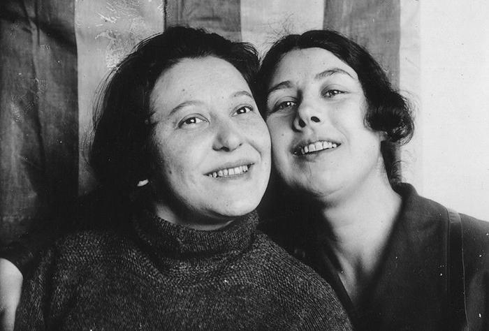 Варвара Степанова и Любовь Попова.