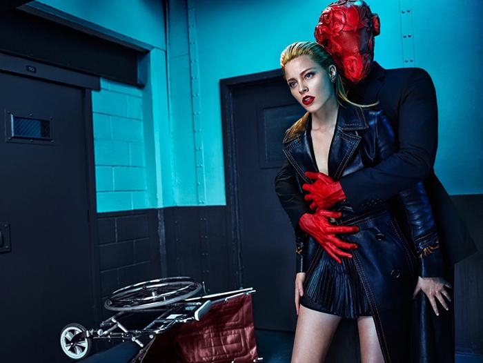 Маска Bob Basset в рекламе модного бренда.