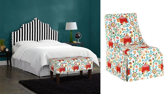Мебель для Cloth & Company.