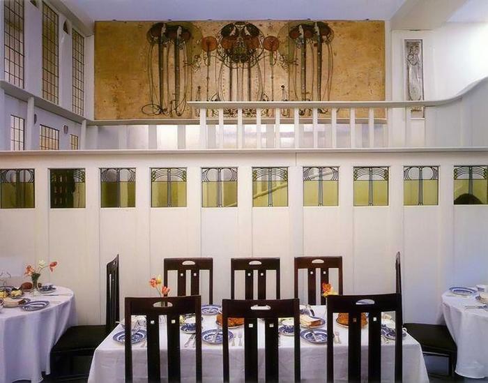 Чарльз Макинтош, декор чайных комнат.