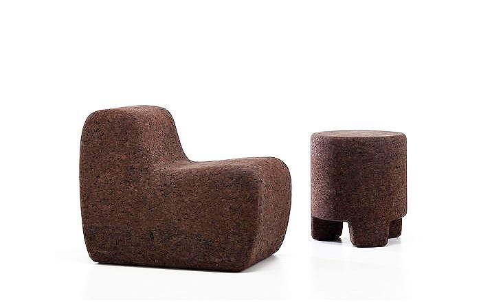Мебель из необычных материалов.