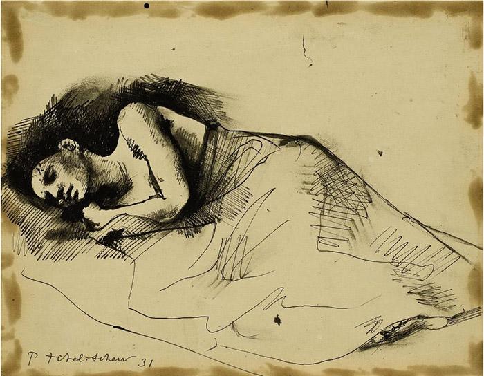 Рисунок Павла Челищева.