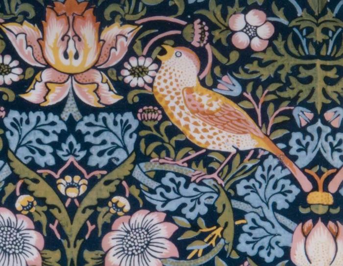 Текстиль Уильяма Морриса.