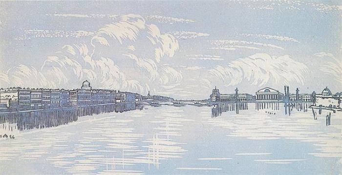 Виды Ленинграда.
