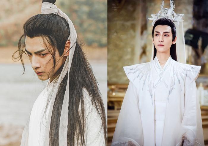 Образы Ло Юньси в костюмированных дорамах.