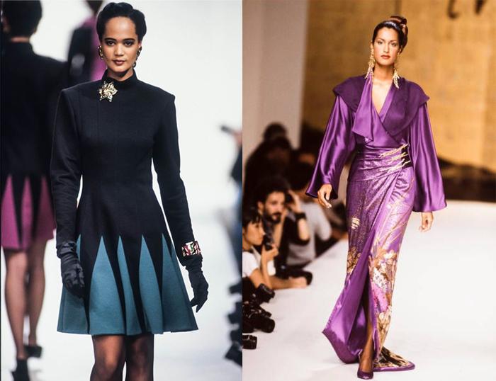 Сочетание европейского и азиатского кроя в моделях Ханае Мори.