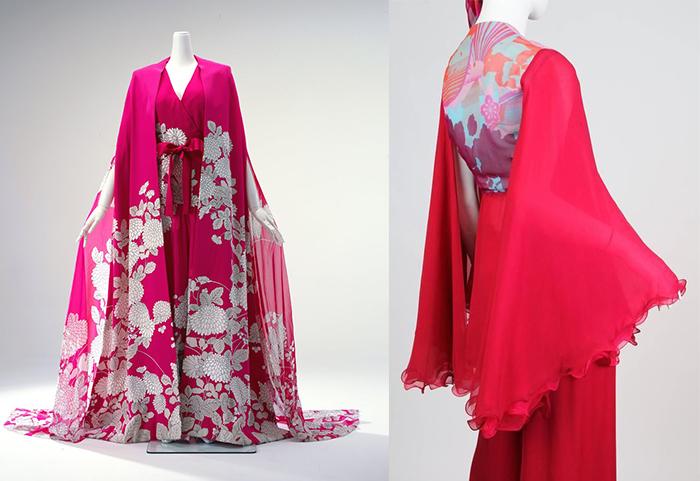 Шелковое платье и костюм.