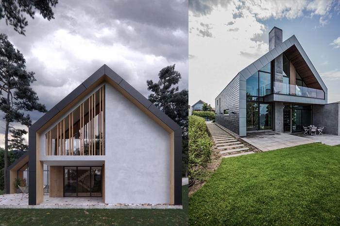 Барнхаус - молодой и популярный стиль в архитектуре.