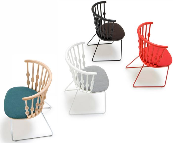 Ностальгические и технологичные предметы мебели.
