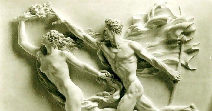 Аполлон и Дафна.