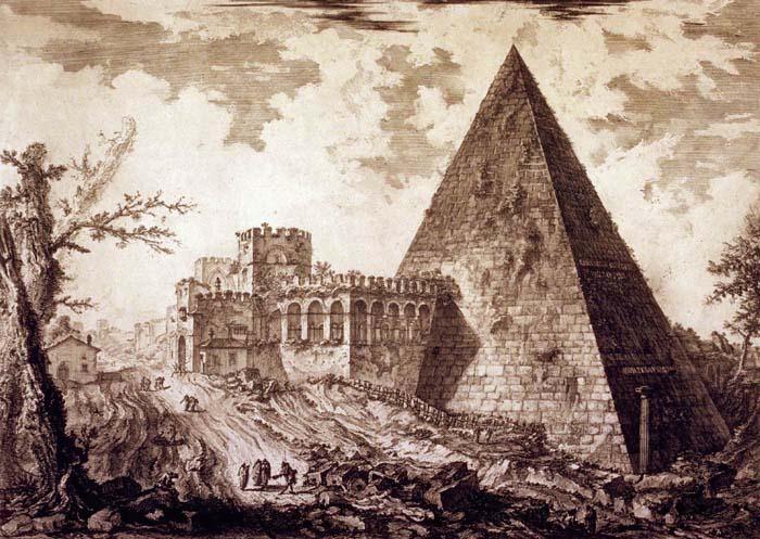 Пирамида Цестия.