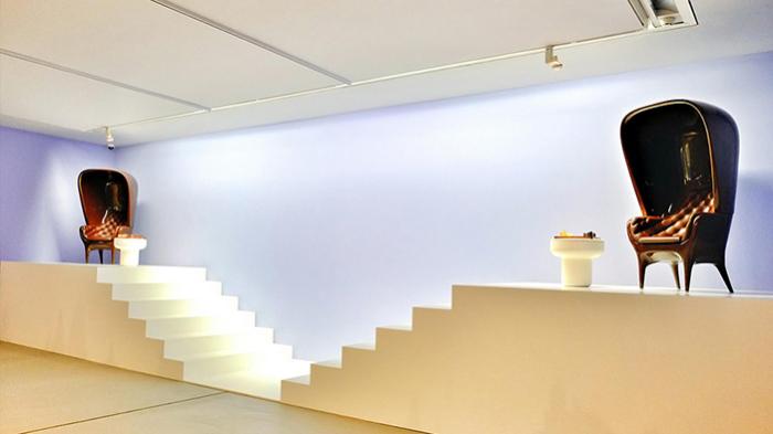 Внутреннее пространство музея.