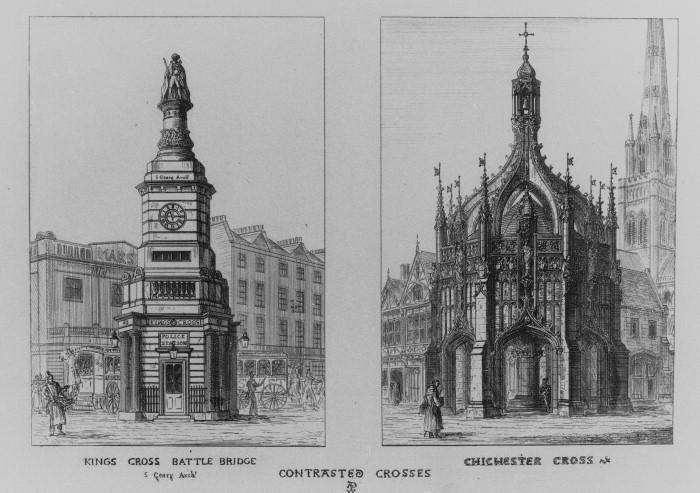 Сравнение классической и готической архитектуры в книге Пьюджина.